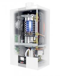 Газовый настенный конденсационный котел WOLF CGB-2