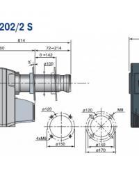 чертеж М 200 S
