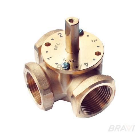 Трехходовой смесительный клапан BRAVI