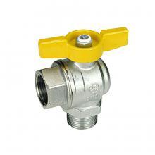 Кран шаровый газовый угловой R780 Giacomini